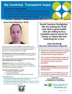 Jimmy Martinez flyer SCSFA partnership